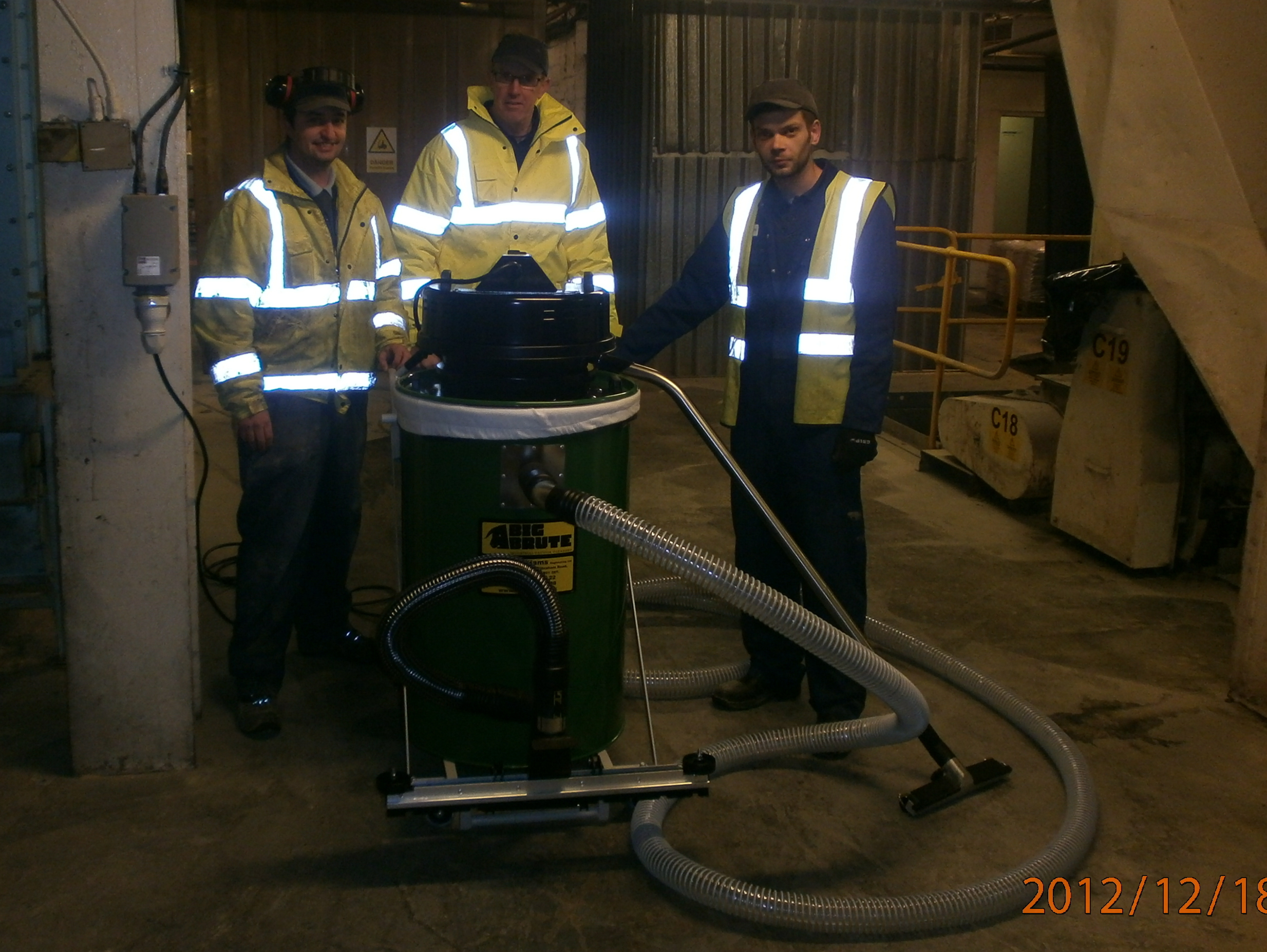 BOCM PAULS Bury St Edmunds With Their Big Brute Popular Industrial Vacuum Cleaner