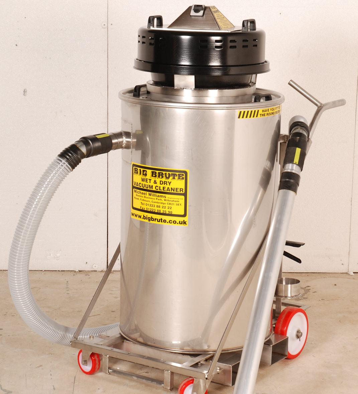 Stainless Steel Big Brute Industrial Vacuum Cleaner