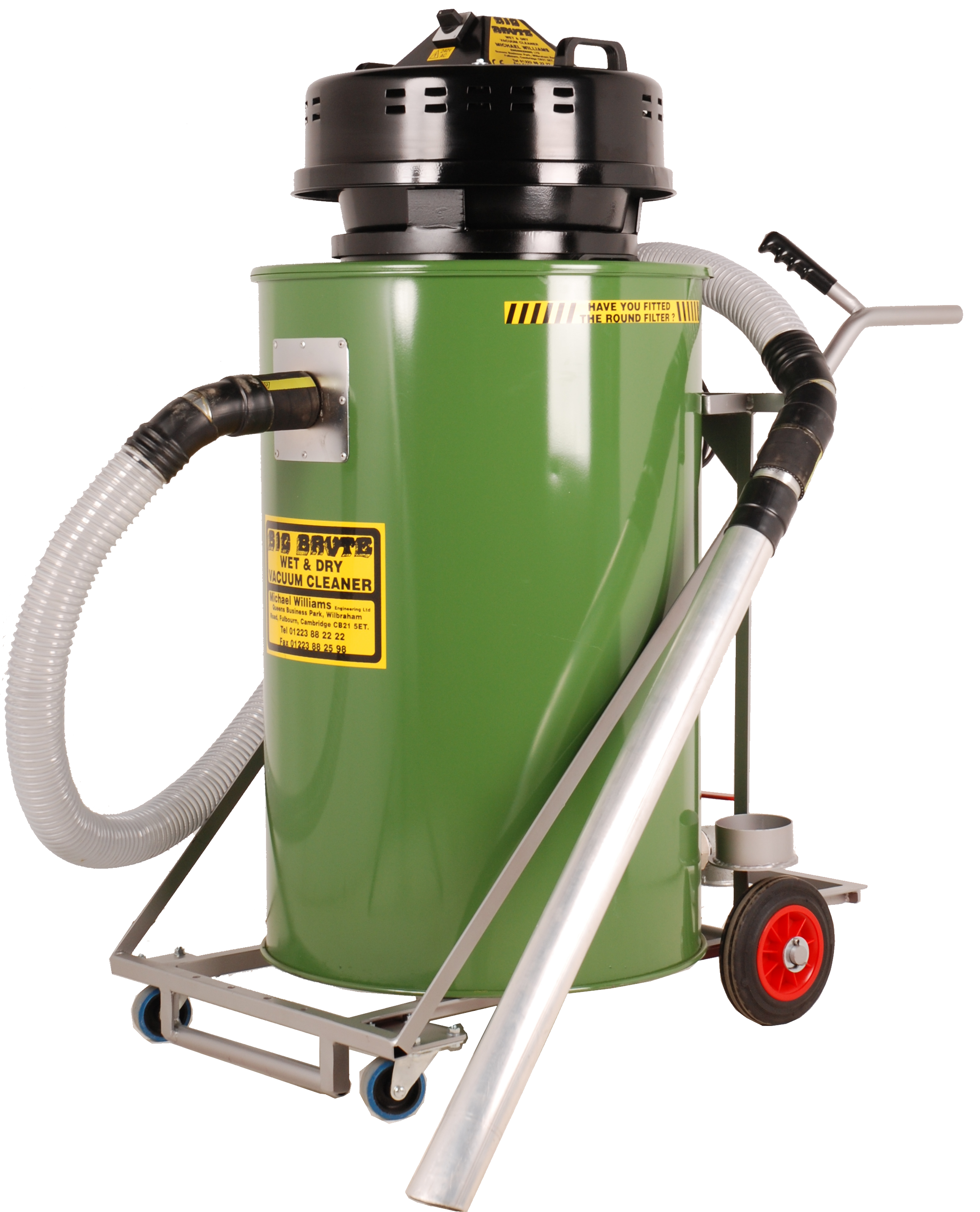 Big Brute Wet & Dry Industrial Vacuum Cleaner