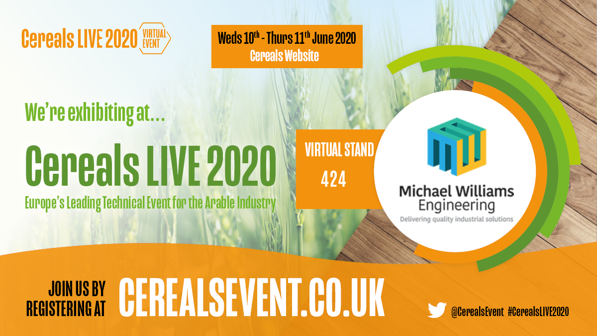 Make Those Difficult Jobs Easy - See Us At Virtual Cereals 2020